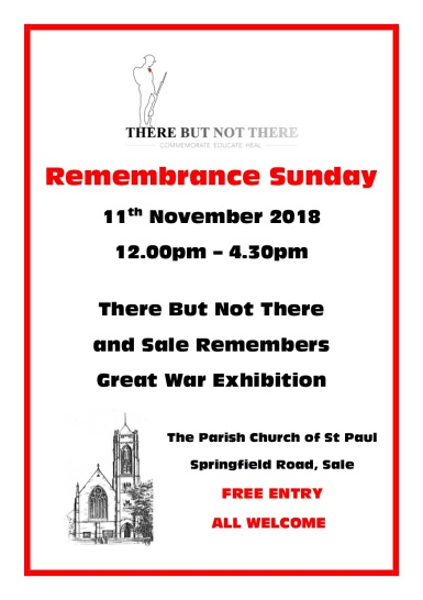 SALE REMEMBERS 2- THERE BUT NOT THERE double side A5 Poster