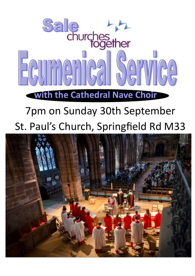 St. Paul's Ecumenical Service with the Cathedral Nave Choir