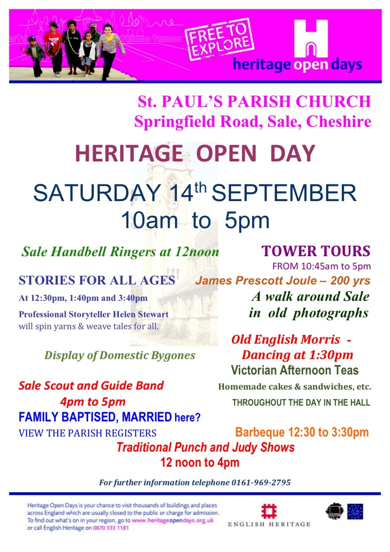 Heritage Open Day Poster 2019