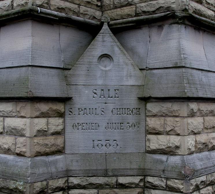 St. Paul foundation stone
