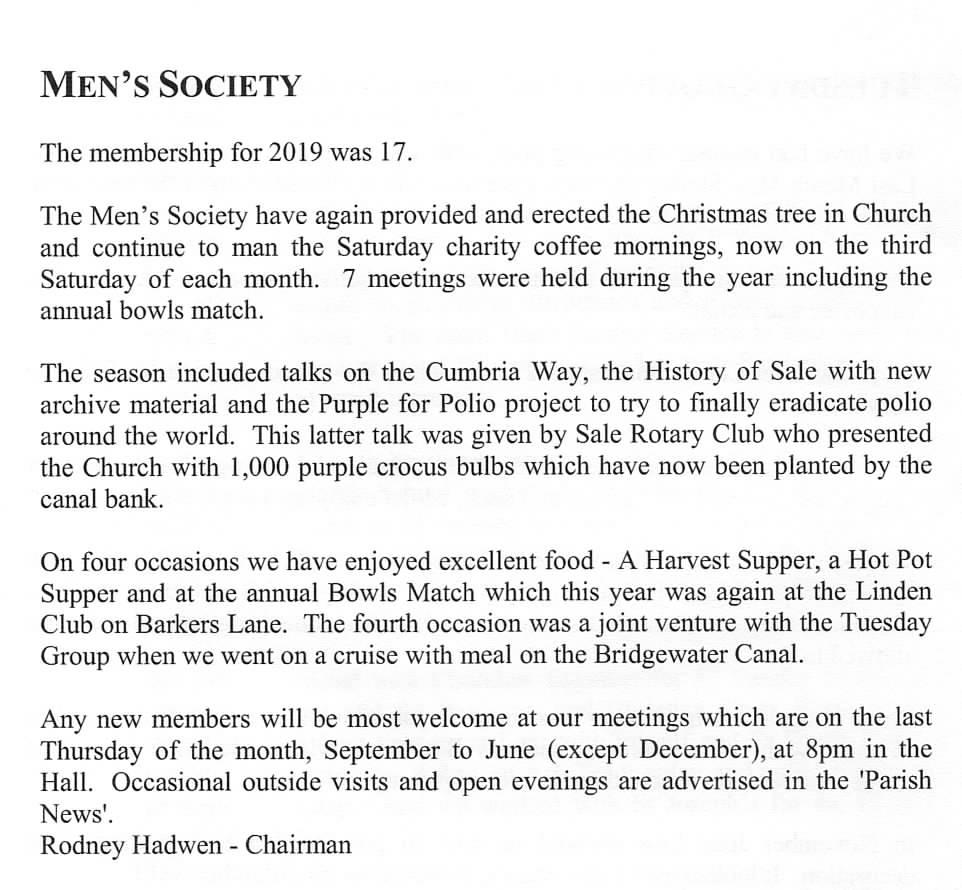Men's Soc